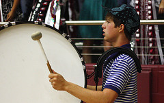 Drumline to host invitational competition this weekend