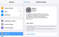 Eight features of the iOS.8