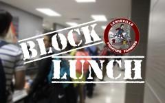 Harmon prepares for block lunch