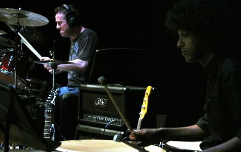 Professional percussionist gives students perspective, wisdom