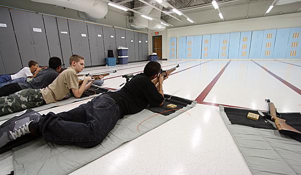 NJROTC students take aim with new facility
