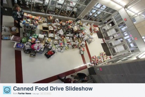 Multimedia: 'Stuff The Pantry' collection day