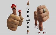 Thumbs: New semester, crowded hallways, finals and more