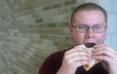 Sandwich-fabricator extraordinaire James Shillinglaw says goodbye.