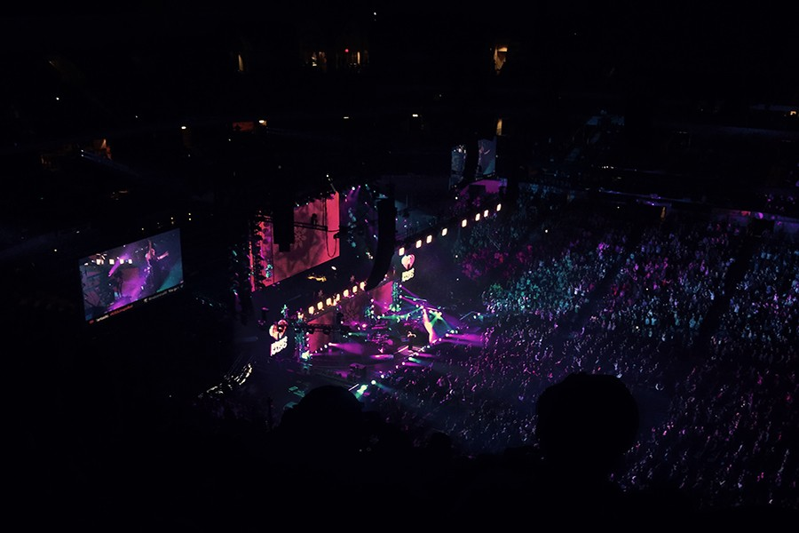 The+light+shows+were+just+one+aspect+that+contributed+to+a+successful+Jingle+Ball.