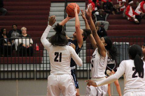 Slideshow: Girls' basketball vs. L.D. Bell