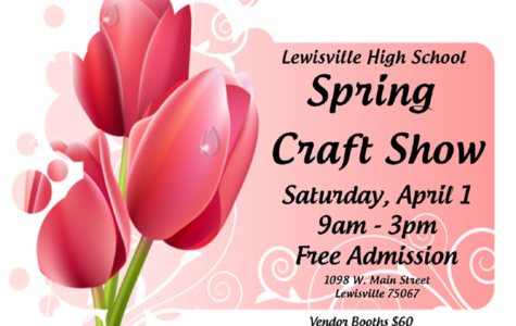 PTSA organizes annual spring craft show