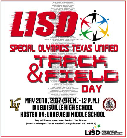 Special Olympics to hold track, field day