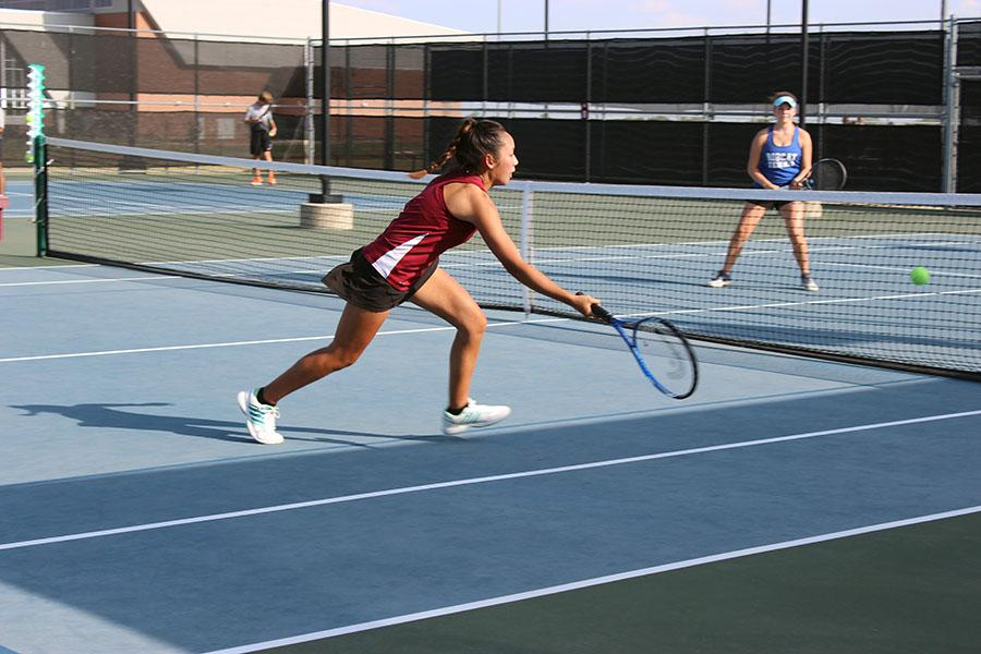 Tennis ends season with loss to Flower Mound