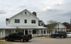 George Coffee + Provisions offers a trendy environment to customers.