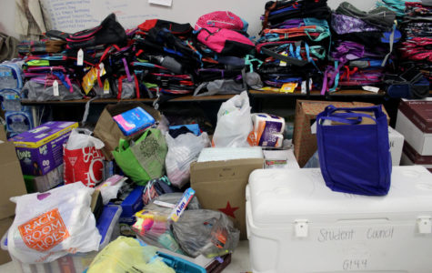 Students contribute to hurricane relief fund