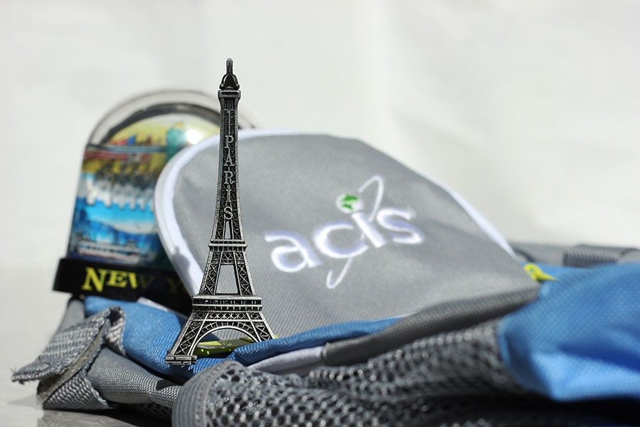 Twelve students will be traveling to Paris with the travel group ACIS.