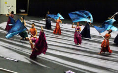 Winter guard wins third, ends season