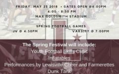 Spring football games start new tradition