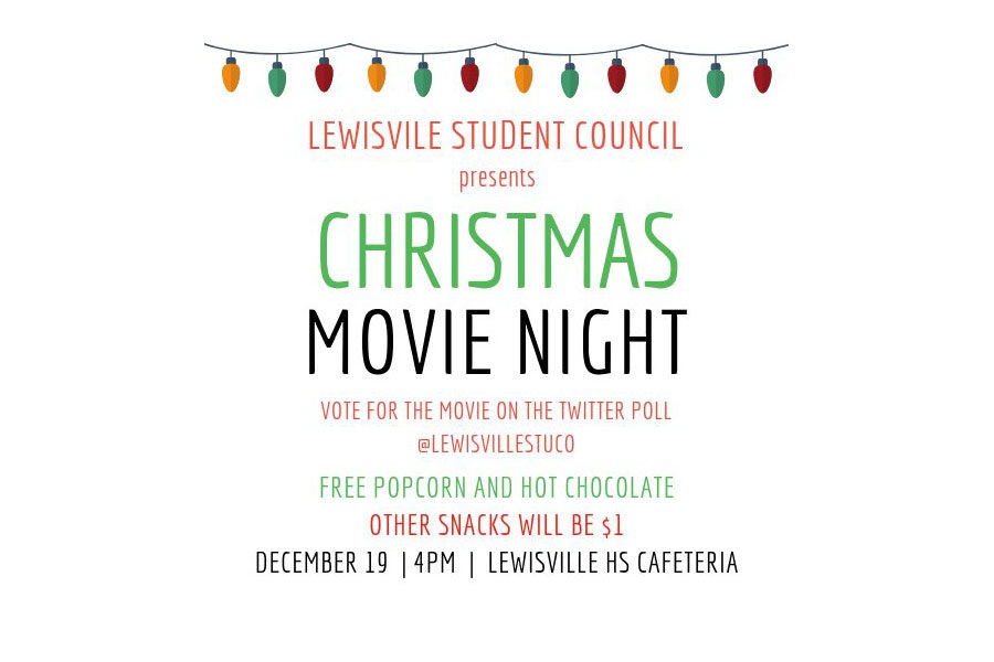 Student+council%27s+first-ever+movie+night+will+be+held+after+school+on+Wednesday%2C+Dec.+19.+Courtesy+of+Student+Council.