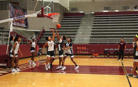 Girls' basketball shoots for playoff success