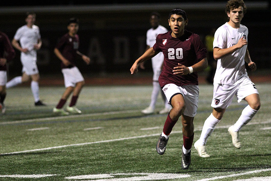 Boys' soccer finishes strong