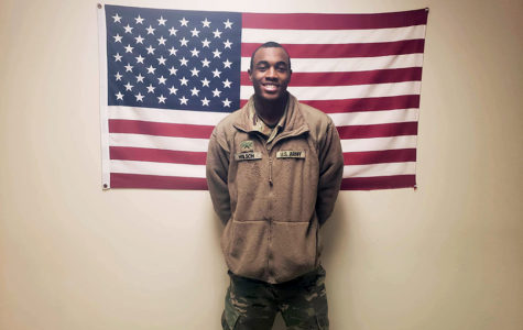 Former student inspires others to join military