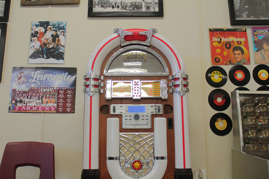 Alexander+plays+music+from+this+jukebox+during+passing+periods.