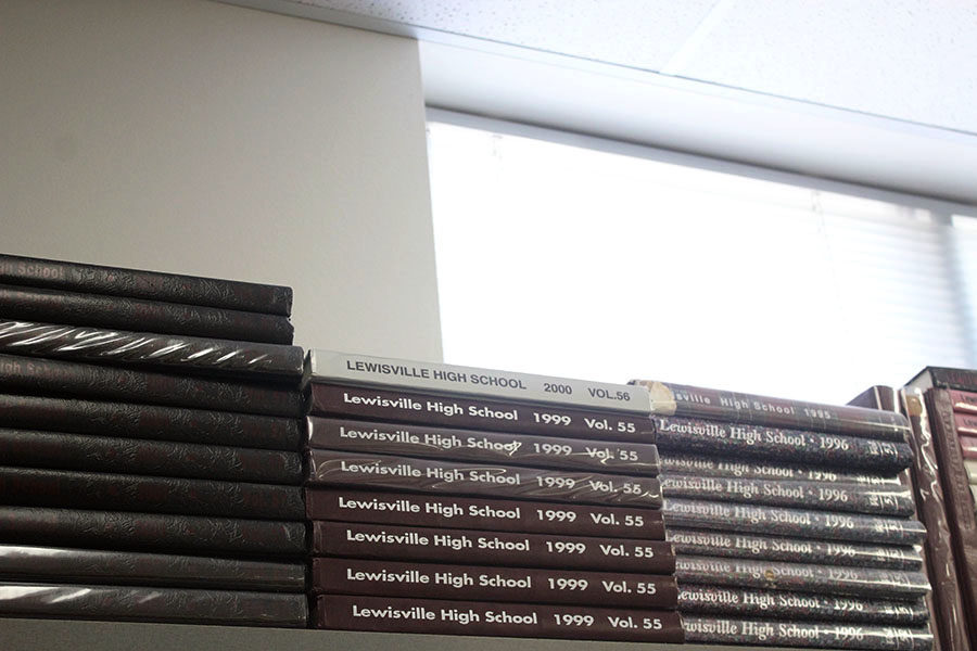 The yearbook staff is hosting a Fire Sale on old yearbooks through Tuesday, Oct. 1.