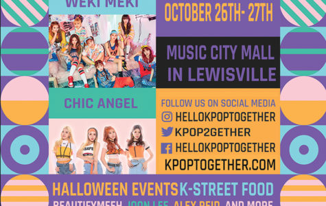 K-pop Together to hold a Korean culture festival at Music City Mall from 11 a.m. to 7:45 p.m. on Saturday, Oct. 26 and from 11 a.m. to 5:30 p.m. on Sunday, Oct. 27. Courtesy of K-pop Together.