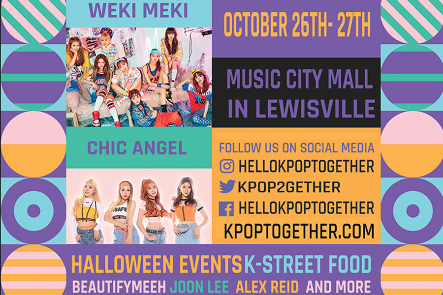 K-pop+Together+to+hold+a+Korean+culture+festival+at+Music+City+Mall+from+11+a.m.+to+7%3A45+p.m.+on+Saturday%2C+Oct.+26+and+from+11+a.m.+to+5%3A30+p.m.+on+Sunday%2C+Oct.+27.+Courtesy+of+K-pop+Together.