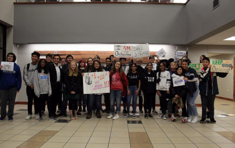 Orchestra students sway district