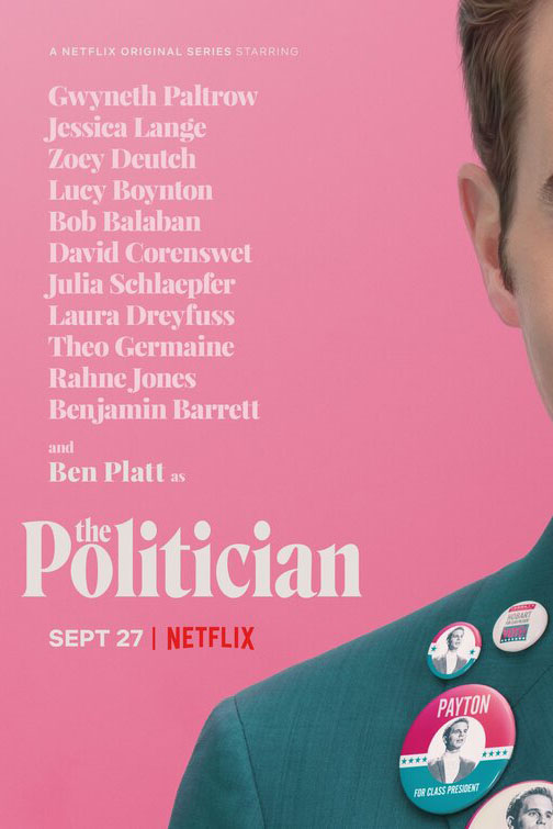 Netflix%27s+newest+original+series%2C+%22The+Politician%2C%22+released+on+Friday%2C+Sept.+27.