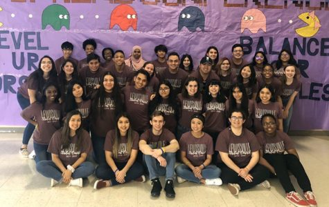 StuCo poses for a picture at Northwest High School for the district conference on Saturday, Feb. 22. Courtesy of Allison Stamey.