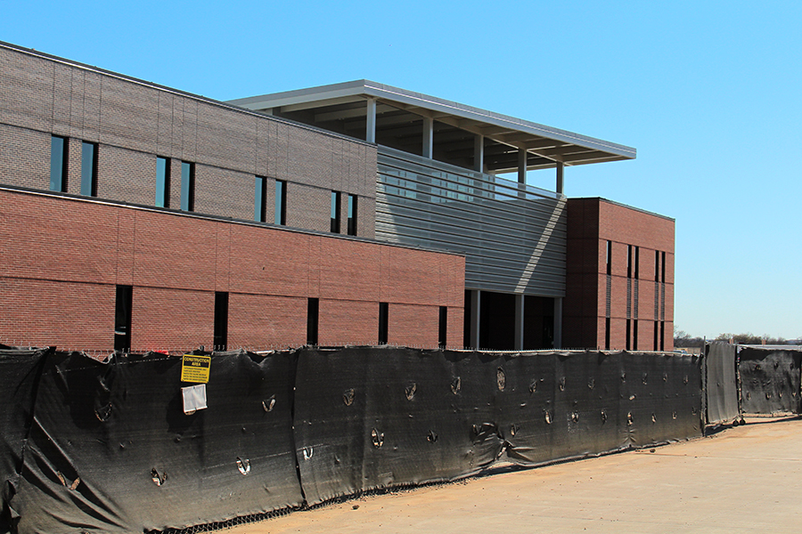 Construction on the TECC-W career center is currently underway.
